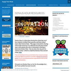Genius Hour Resources
