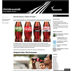 Brand Genius: Tribes of Coke