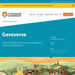Geniverse – Concord Consortium