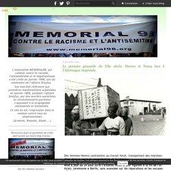 Le premier génocide du XXe siècle: Herero et Nama face à l'Allemagne impériale.