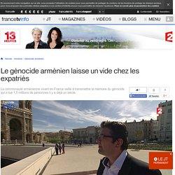 Le génocide arménien laisse un vide chez les expatriés