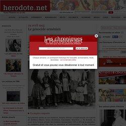 24 avril 1915 - Le génocide arménien