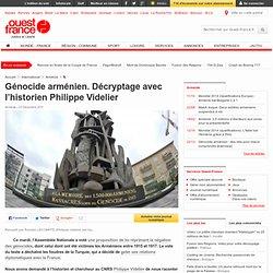 Génocide arménien. Décryptage avec l'historien Philippe Videlier - Histoire