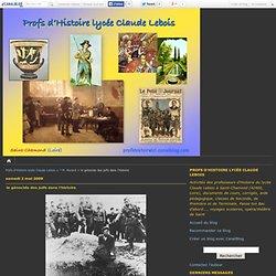 le génocide des juifs dans l'histoire - Profs d'Histoire lycée Claude Lebois