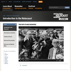 The Path to Nazi Genocide — Media