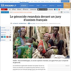 Le génocide rwandais devant un jury d'assises français