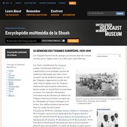 Le génocide des Tsiganes européens, 1939-1945