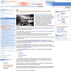 Le génocide tzigane pendant la Seconde guerre mondiale- Pôle civique