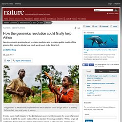 How the genomics revolution could finally help Africa