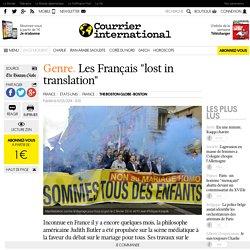 """Les Français """"lost in translation"""""""