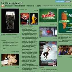Genre et publicité