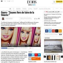 """Genre: """"Soyons fiers de faire de la théorie !"""" - 10 février 2014"""