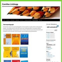 Camillas Lärblogg