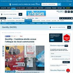 Gentilly : l'extrême-droite avoue l'attaque du local communiste