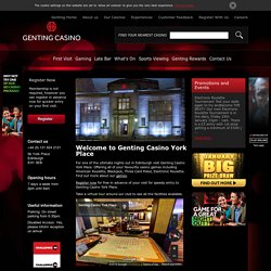 Genting Casino - Night Out in Edinburgh