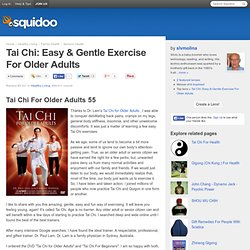 Stop Body Aches & Pains with Tai-chi For Older Adults