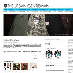 The Urban Gentleman | Men's Fashion Blog | Men's Grooming | Men's Style |