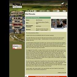 The League of Gentlemen Website! - Ollie Plimsoles