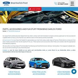 Ford Genuine Parts & Accessories - Brad Garlick Ford, Sydney