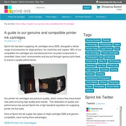 Genuine and Compatible Printer Ink Cartridges - A guide