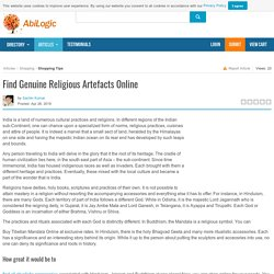 Find Genuine Religious Artefacts Online