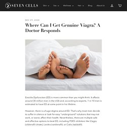 Where can I get genuine viagra