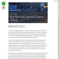 Buy Genuine Wartsila Spares Online