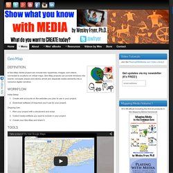 Geo Map » Show What You Know with Media