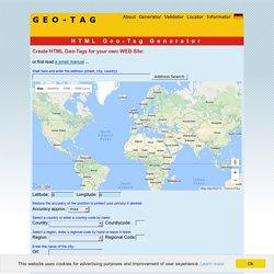 Geo Tag Generator