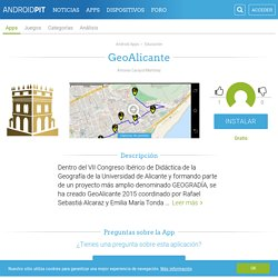 GeoAlicante - Aplicaciones y Análisis Android