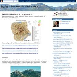 Estudios de Geoarqueología en Extremadura: GEOLOGÍA E HISTORIA DE LAS VILLUERCAS