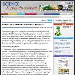Géobiologie de l'habitat : un simulacre de science