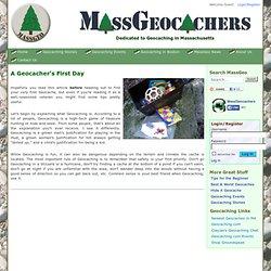 A Geocacher's First Day