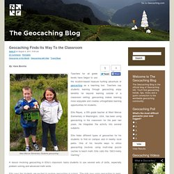 Geocaching Finds Its Way To the Classroom – The Geocaching Blog