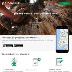 Geocaching - The Official Global GPS Cache Hunt Site - StumbleUpon