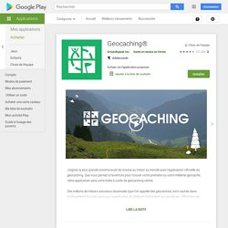 Geocaching® - Apps on Google Play