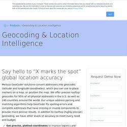 Geocoding & Location Intelligence