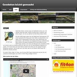 Geodaten leicht gemacht » OSM