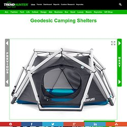 Geodesic Camping Shelters : tent design