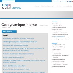 Géodynamique interne