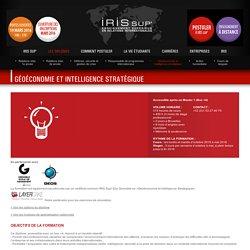 IRIS SUP' - Les diplômes - Géoéconomie et intelligence stratégique