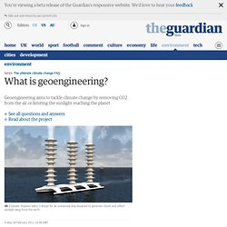 essay on geoengineering There's no better evidence for the growing acceptance of geoengineering than a 2006 essay in the journal climatic change by the atmospheric chemist paul crutzen,.