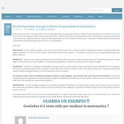 GeoGebra Italia » Perché GeoGebra aiuta gli studenti ad apprendere la matematica