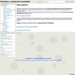 GeoGebra - podręcznik i przykłady