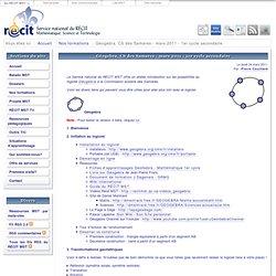 RÉCIT MST > Géogebra, CS des Samares - mars 2011 - 1er cycle secondaire