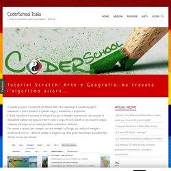 Tutorial Scratch: Arte e Geografia..ma trovato l'algoritmo allora…. – CoderSchool Italia