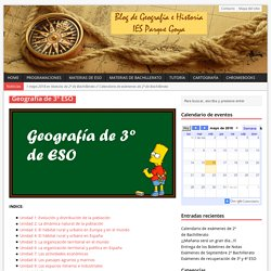 Geografía de 3º ESO – Blog de Geografía e Historia