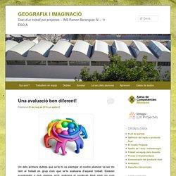 Diari d'un treball per projectes – INS Ramon Berenguer IV – 1r ESO A
