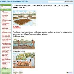 TÉCNICAS DE CULTIVO Y UBICACIÓN GEOGRÁFICA DE LOS AZTECAS, MAYAS E INCAS - Cuarto Virtual de Pestalozzi 2012