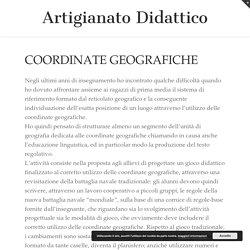Coordinate geografiche - ARTIGIANATO DIDATTICO